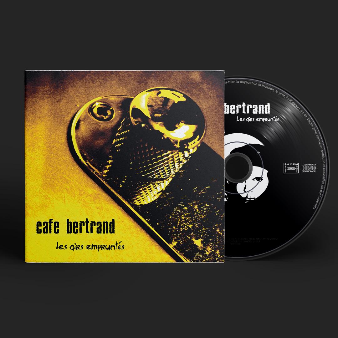 Café Bertrand Les Airs empruntés album