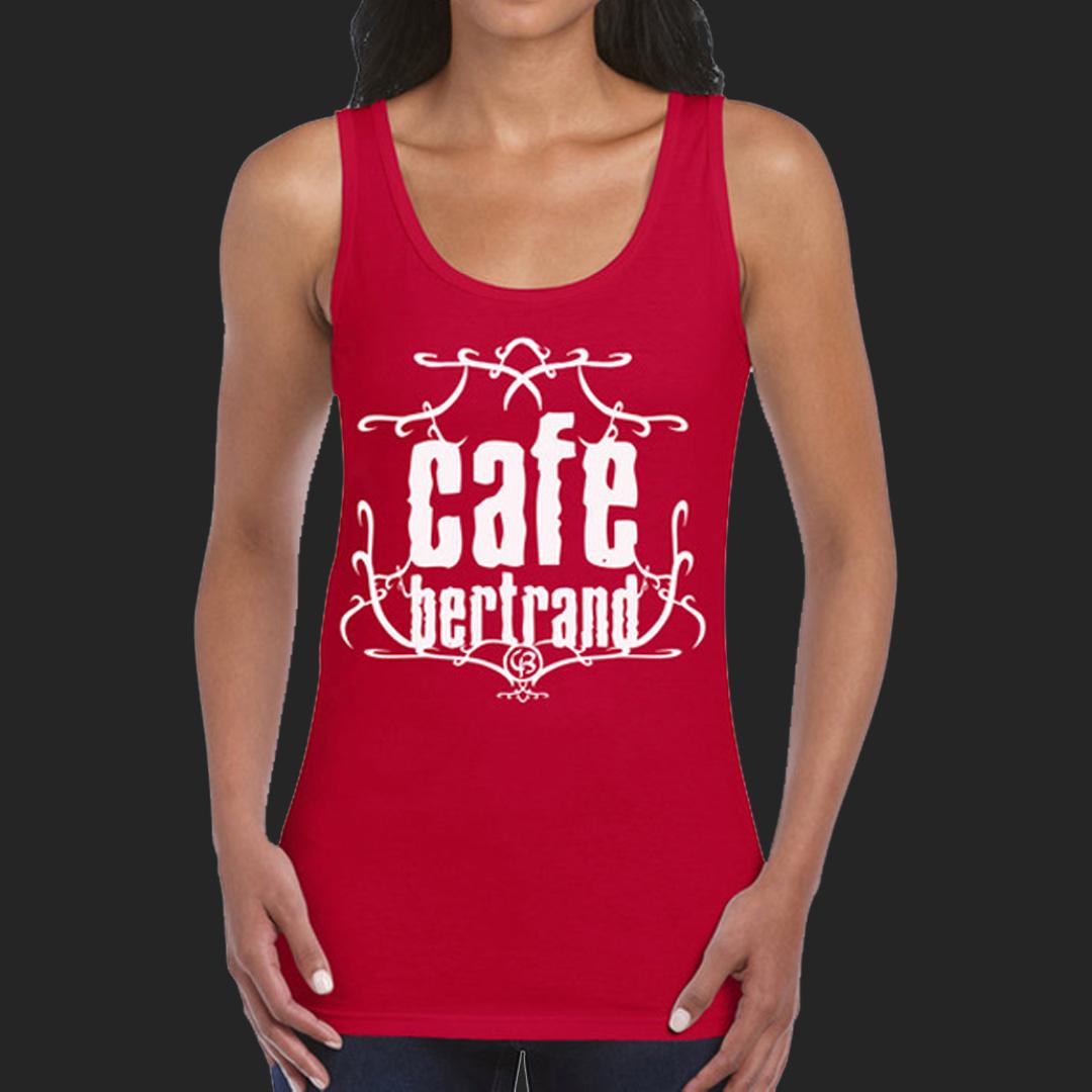 Café Bertrand T-shirt femme