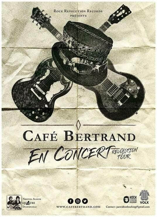 Cafe Bertrand groupe